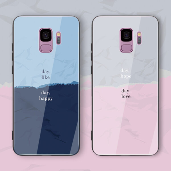 Creative Color Block Case For Samsung Note 10 9 8 S10 9 8 Plus SGN802_3