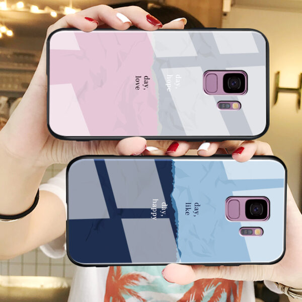 Creative Color Block Case For Samsung Note 10 9 8 S10 9 8 Plus SGN802_5