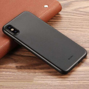 Perfect Black Thin iPhone X XS Protective Case Cover IPS102