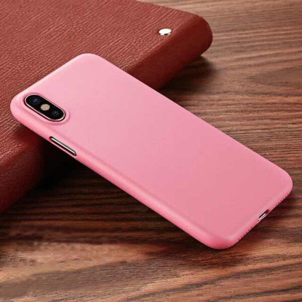 Perfect Black Thin iPhone X XS Protective Case Cover IPS102_3