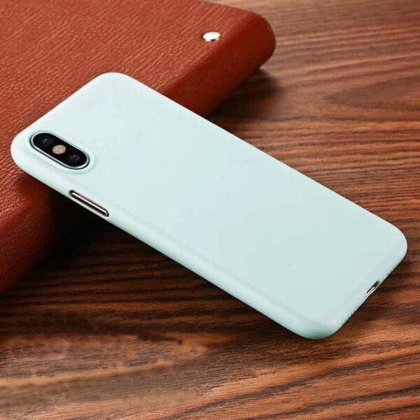 Perfect Black Thin iPhone X XS Protective Case Cover IPS102_4
