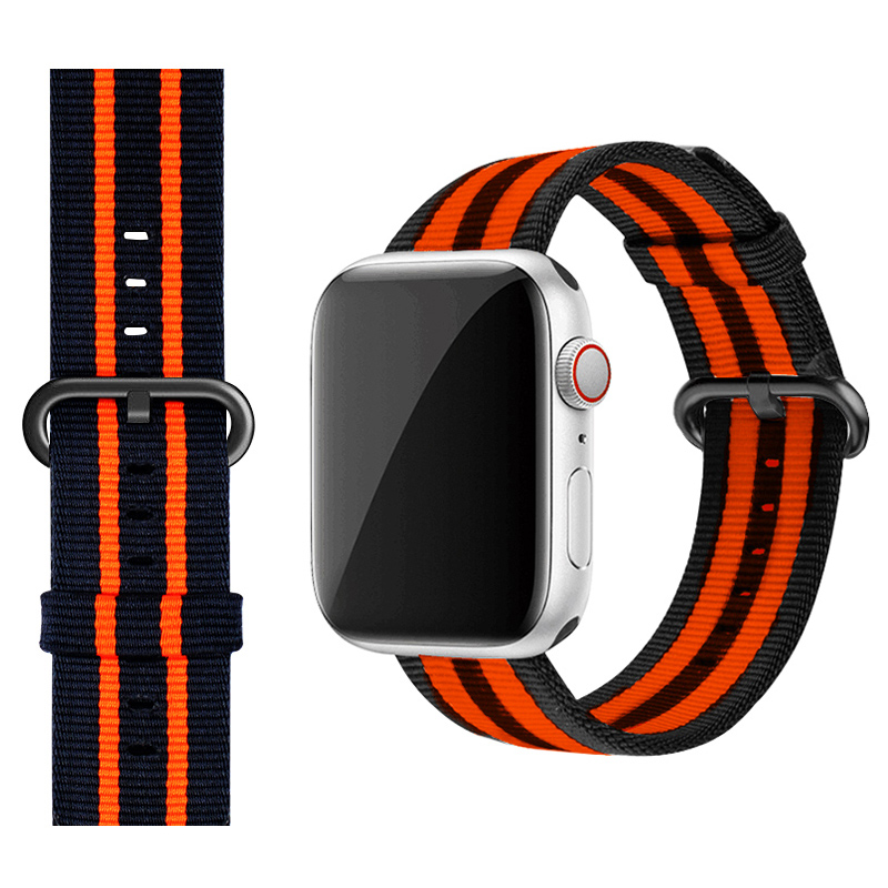 Perfect Nylon Sport Band For 38 40 42 44mm Apple Watch For Women Men AWB08_2