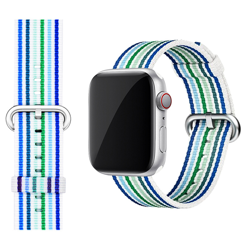 Perfect Nylon Sport Band For 38 40 42 44mm Apple Watch For Women Men AWB08_4