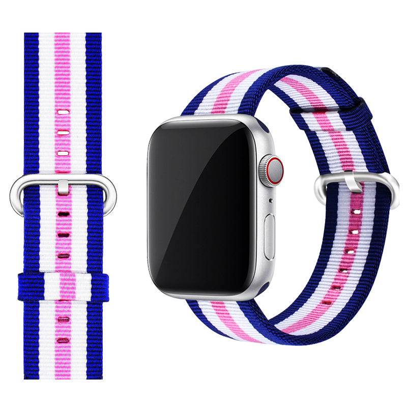 Perfect Nylon Sport Band For 38 40 42 44mm Apple Watch For Women Men AWB08_7