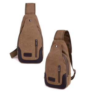 2017 New Chest Canvas Messenger Bag One Shoulder Bag MFB12