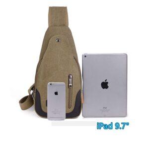 2017 New Chest Canvas Messenger Bag One Shoulder Bag MFB12_10