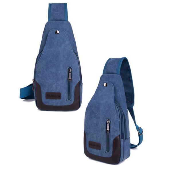 2018 New Chest Canvas Messenger Bag One Shoulder Bag MFB12_4