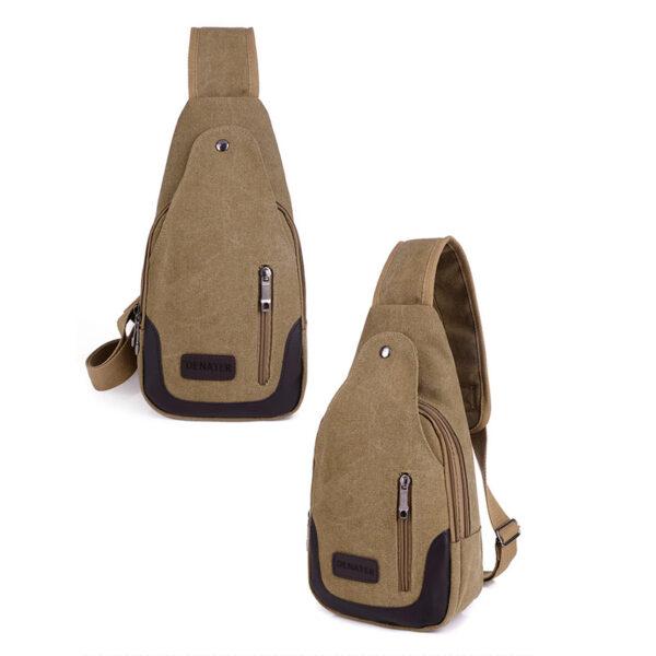 2018 New Chest Canvas Messenger Bag One Shoulder Bag MFB12_5