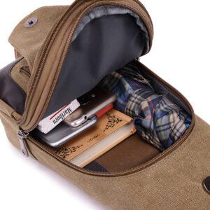 2017 New Chest Canvas Messenger Bag One Shoulder Bag MFB12_8