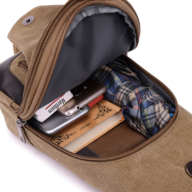 2018 New Chest Canvas Messenger Bag One Shoulder Bag MFB12_8