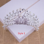 Bride Princess Crown For Wedding Birthday Accessories NLC11
