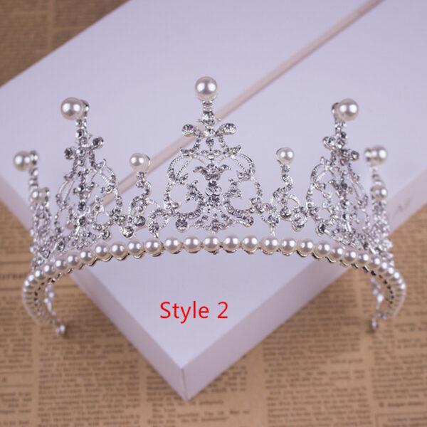 Bride Princess Crown For Wedding Birthday Accessories NLC11_2
