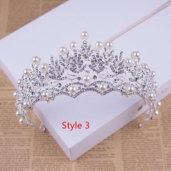 Bride Princess Crown For Wedding Birthday Accessories NLC11_3