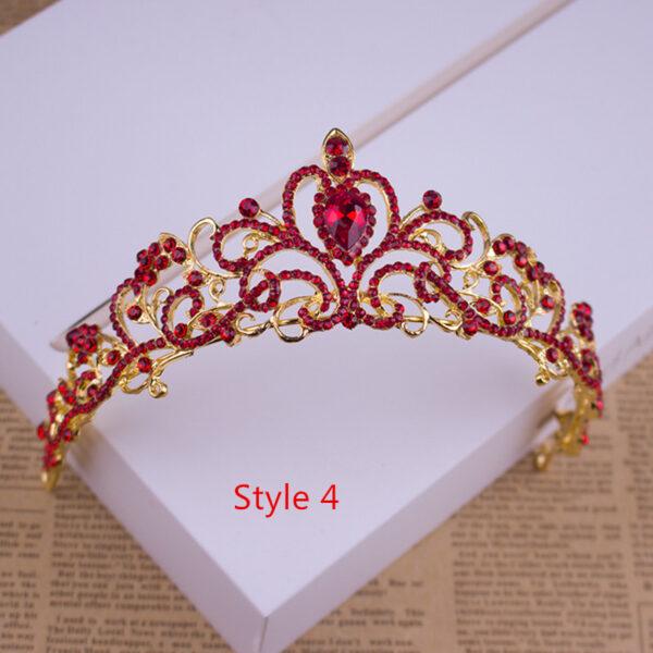 Bride Princess Crown For Wedding Birthday Accessories NLC11_4