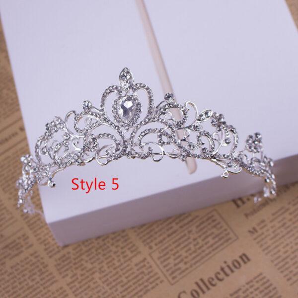 Bride Princess Crown For Wedding Birthday Accessories NLC11_5