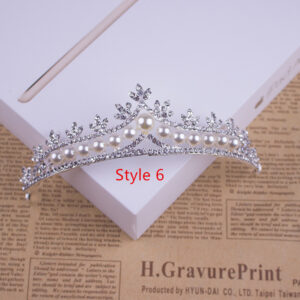 Bride Princess Crown For Wedding Birthday Accessories NLC11_6