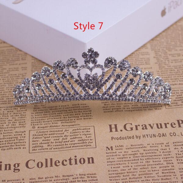 Bride Princess Crown For Wedding Birthday Accessories NLC11_7