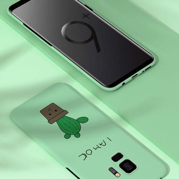 Creative All-inclusive Silicone Case For Samsung S9 8 Plus SGN805_7