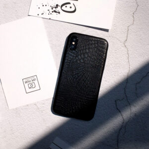 Leather Protective iPhone X 8 7 6S 6 Plus Case Cover IPS107
