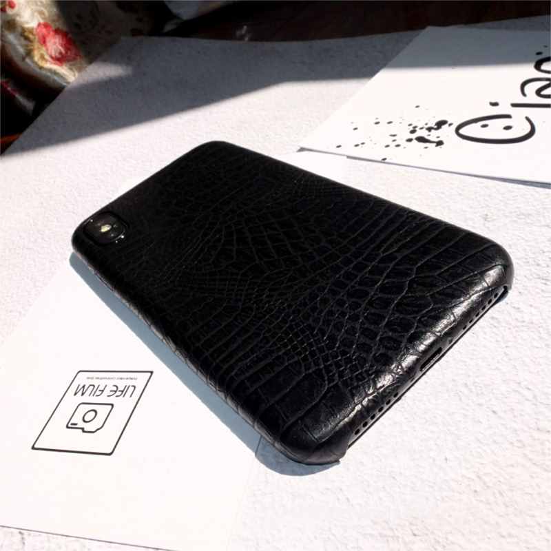 Leather Protective iPhone X 8 7 6S 6 Plus Case Cover IPS107_6
