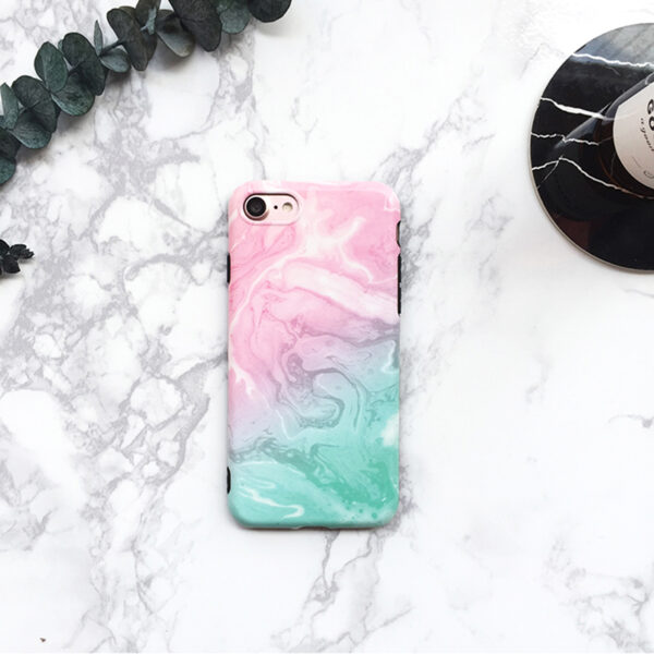 Marble Pattern Cover Case For iPhone X 8 7 6S 6 Plus IPS104_3