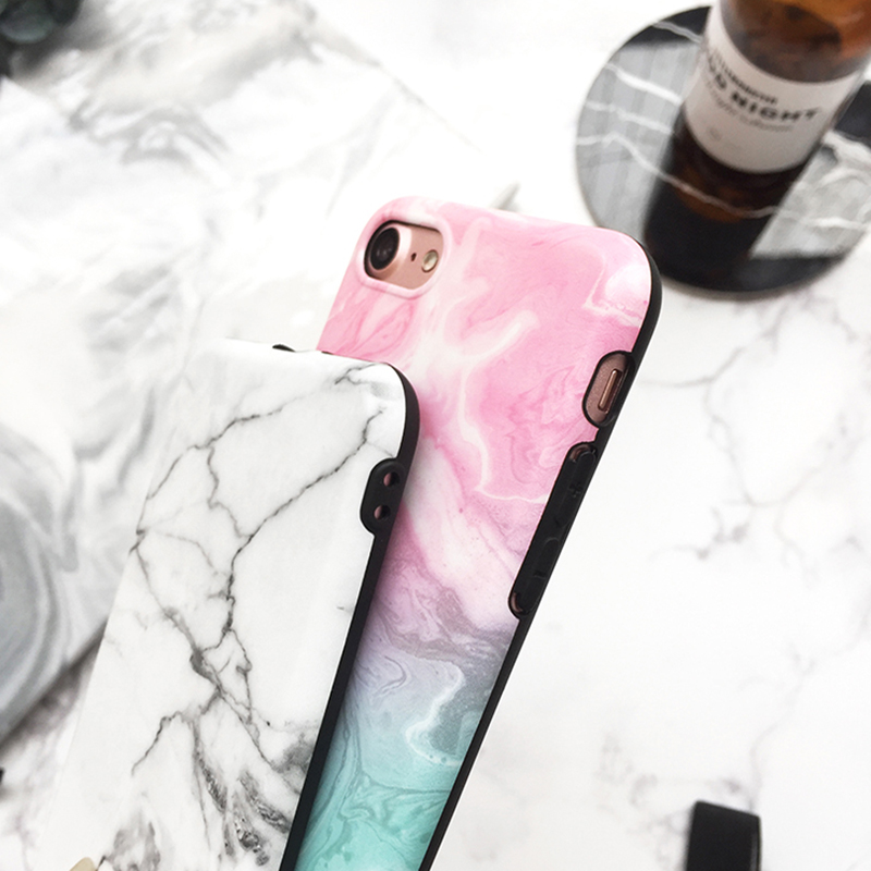 245483a787 Marble Pattern Cover Case For iPhone X 8 7 6S 6 Plus IPS104 | Cheap ...