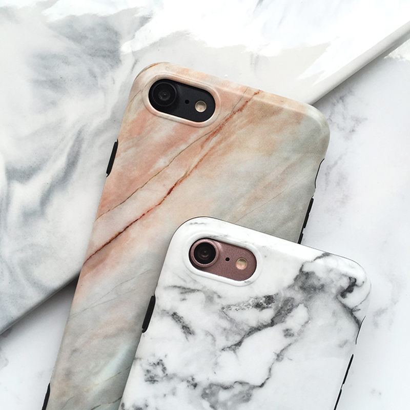 Marble Pattern Cover Case For iPhone X 8 7 6S 6 Plus IPS104_6