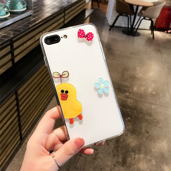 Personality Cartoon Case Cover For iPhone X 8 7 6S Plus IPS106