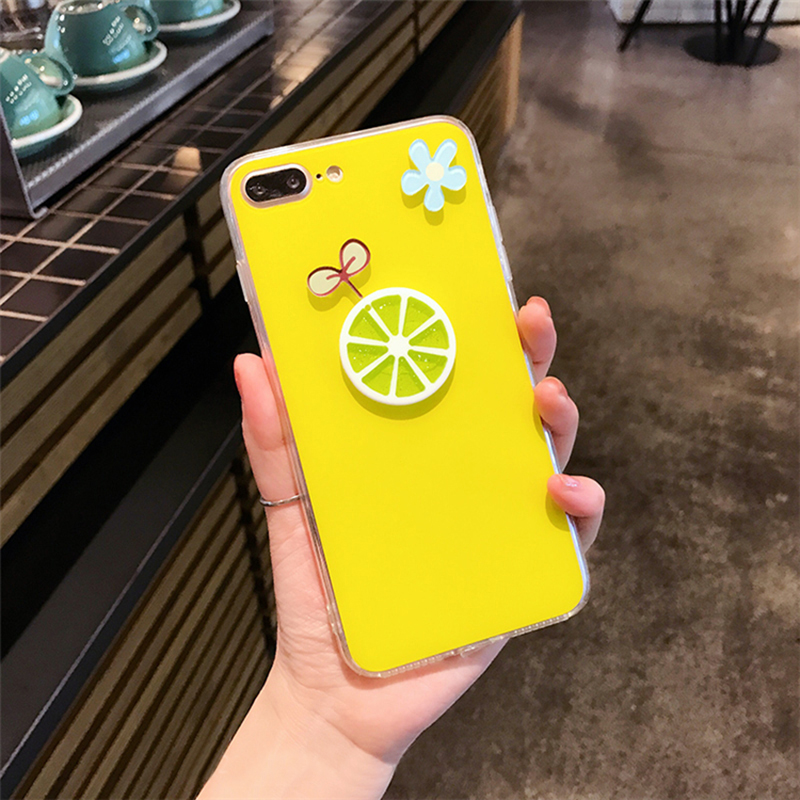 Personality Cartoon Case Cover For iPhone X 8 7 6S Plus IPS106_2