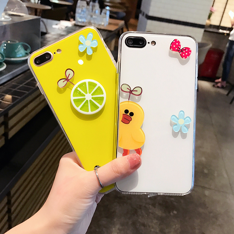 Personality Cartoon Case Cover For iPhone X 8 7 6S Plus IPS106_3