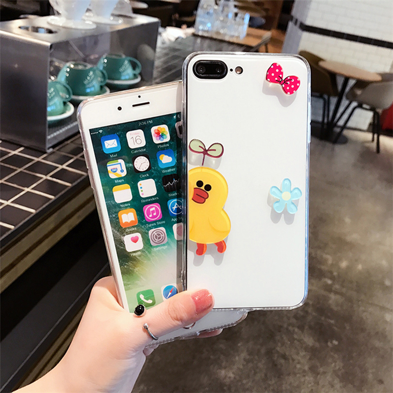 Personality Cartoon Case Cover For iPhone X 8 7 6S Plus IPS106_5
