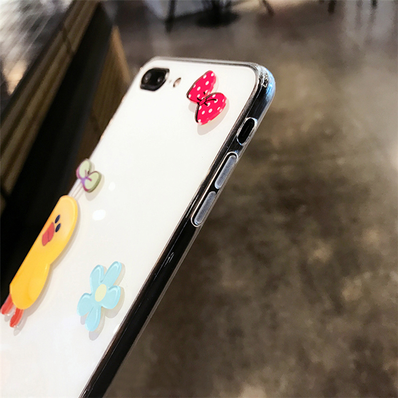 Personality Cartoon Case Cover For iPhone X 8 7 6S Plus IPS106_6