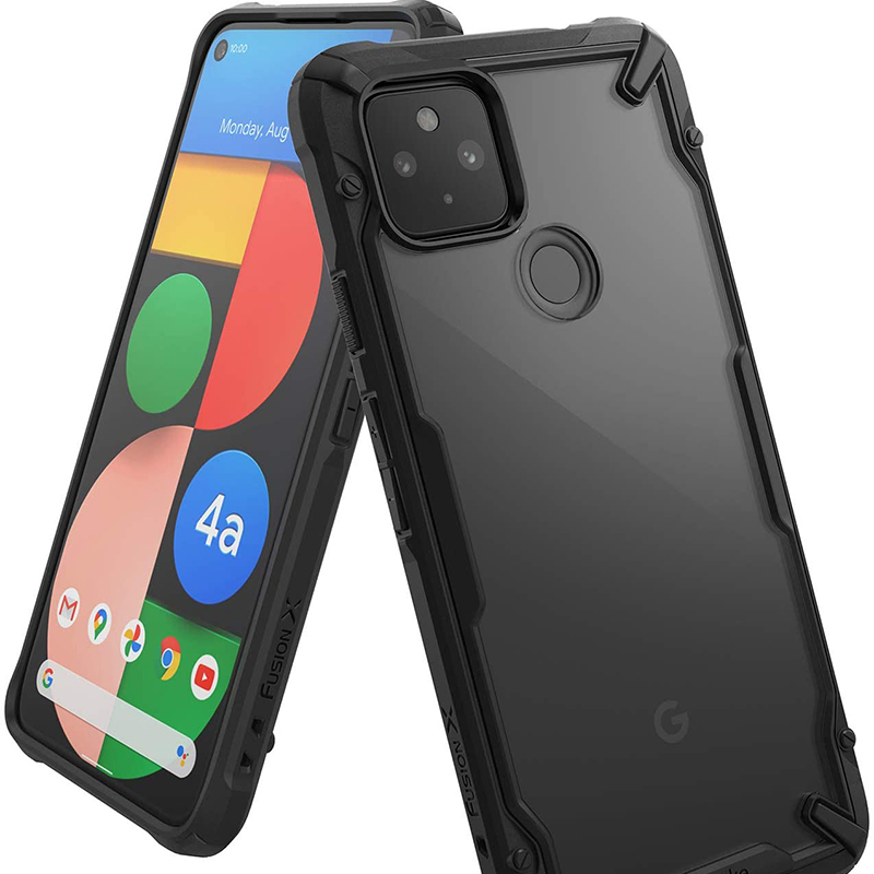 Protective Leather Case Cover With Card Slot For Google Pixel 2 And XL GPC05_2