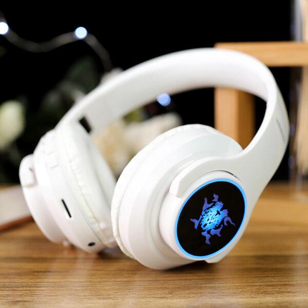 Wireless Bluetooth Gaming Headset With Luminous Logo BTE08_3