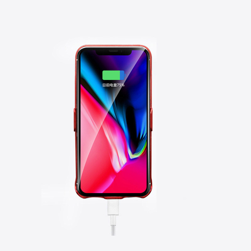 4000mAh Slim Protective iPhone X Charger Case Cover IPS109_2