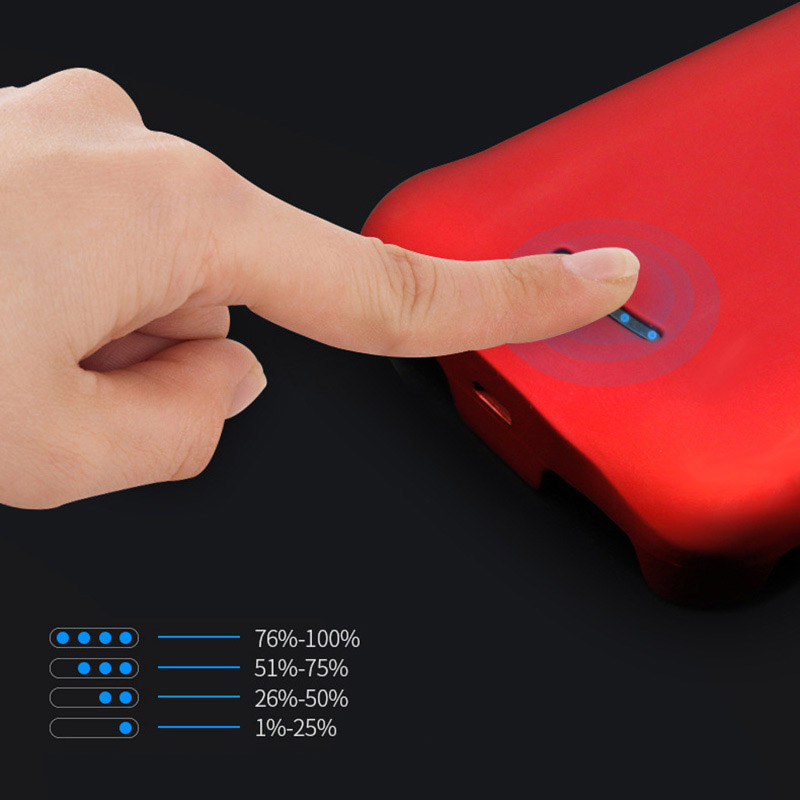 4000mAh Slim Protective iPhone X Charger Case Cover IPS109_4