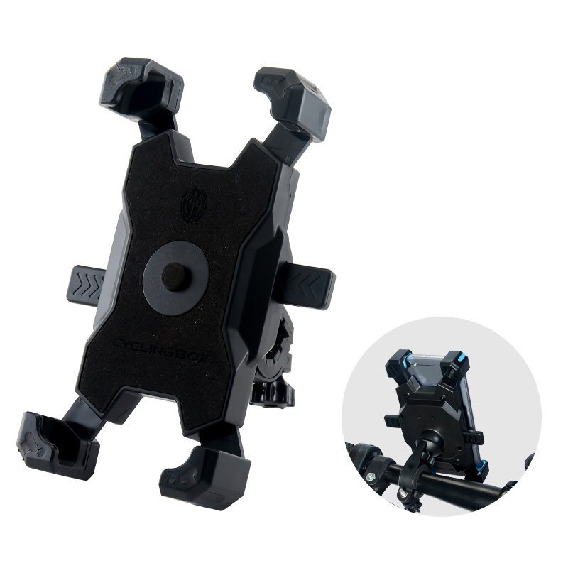 Bike Motorcycle Mobile Phone Stand Holder Navigation Bracket PHE07