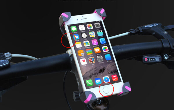 Bike Motorcycle Mobile Phone Stand Holder Navigation Bracket PHE07_5