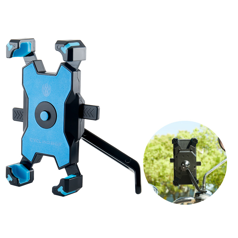 Bike Motorcycle Mobile Phone Stand Holder Navigation Bracket PHE07_8