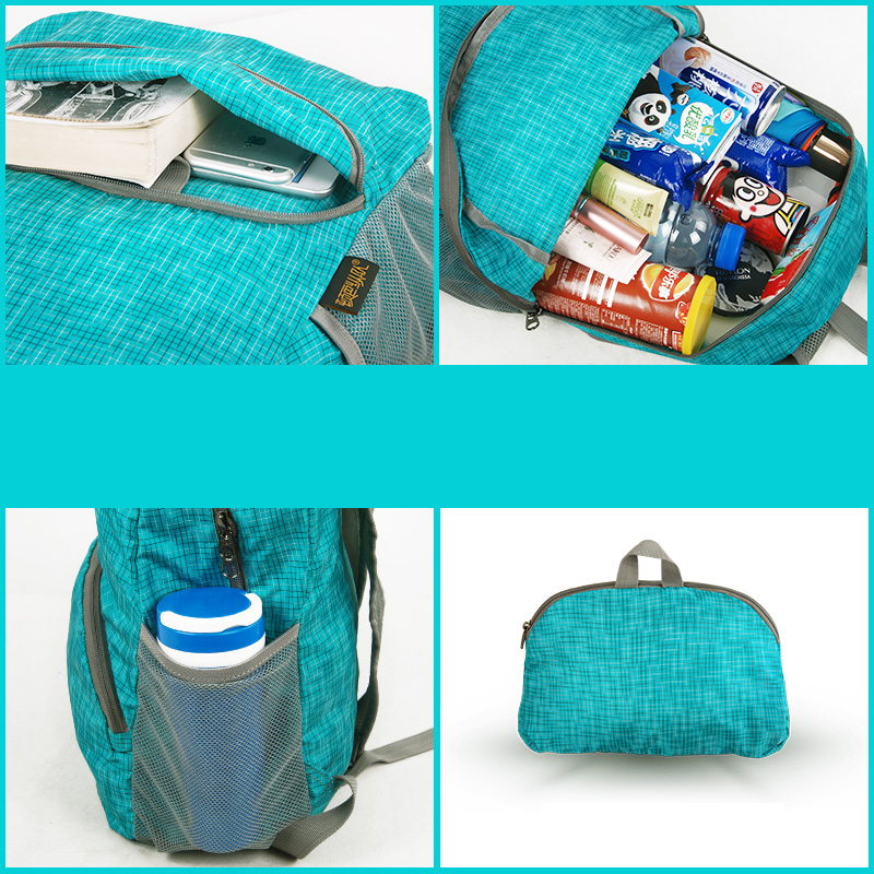 Foldable Children Travel School Shoulder Bag Backpack MFB13_7