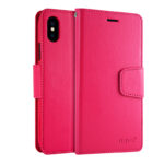 Leather iPhone XS XR Max Wallet Case Cover With Card Slot IPS110