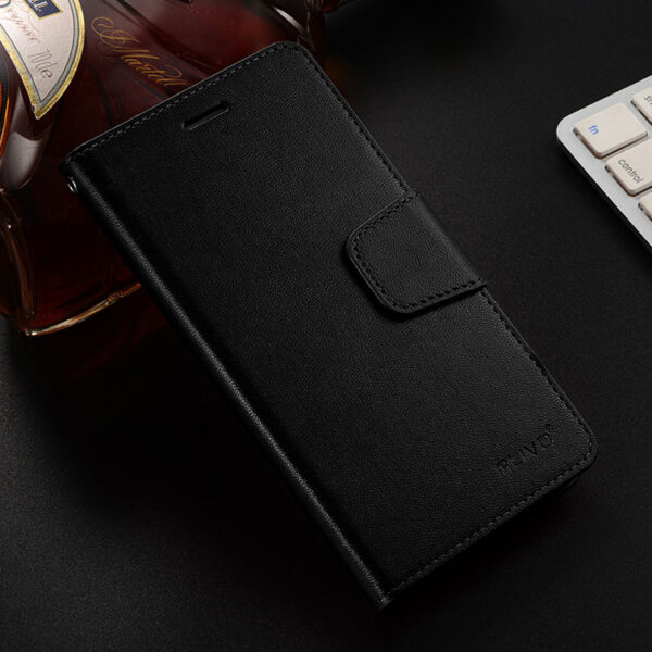 Leather iPhone XS XR Max Wallet Case Cover With Card Slot IPS110_2