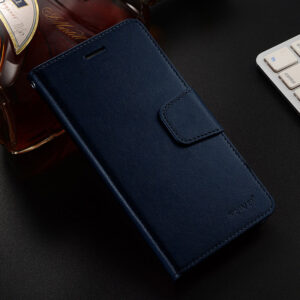 Leather iPhone X Wallet Case Cover With Card Slot IPS110_3