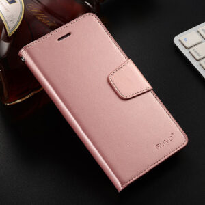 Leather iPhone X Wallet Case Cover With Card Slot IPS110_5