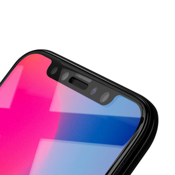 Perfect Full Coverage iPhone X Screen Protector Steel Film IPASP07_2