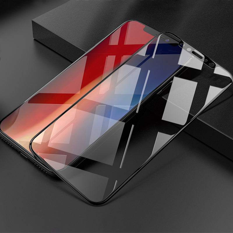 Perfect Full Coverage iPhone X Screen Protector Steel Film IPASP07_3