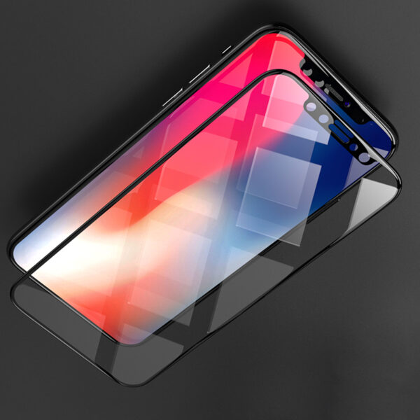 Perfect Full Coverage iPhone X Screen Protector Steel Film IPASP07_4