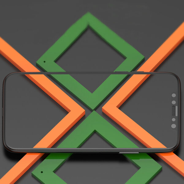Perfect Full Coverage iPhone X Screen Protector Steel Film IPASP07_6