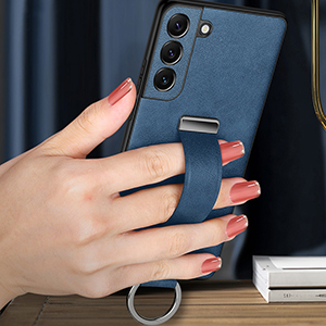 All-inclusive Real Protective Leather Case For Samsung S9 S8 Plus SG809_2