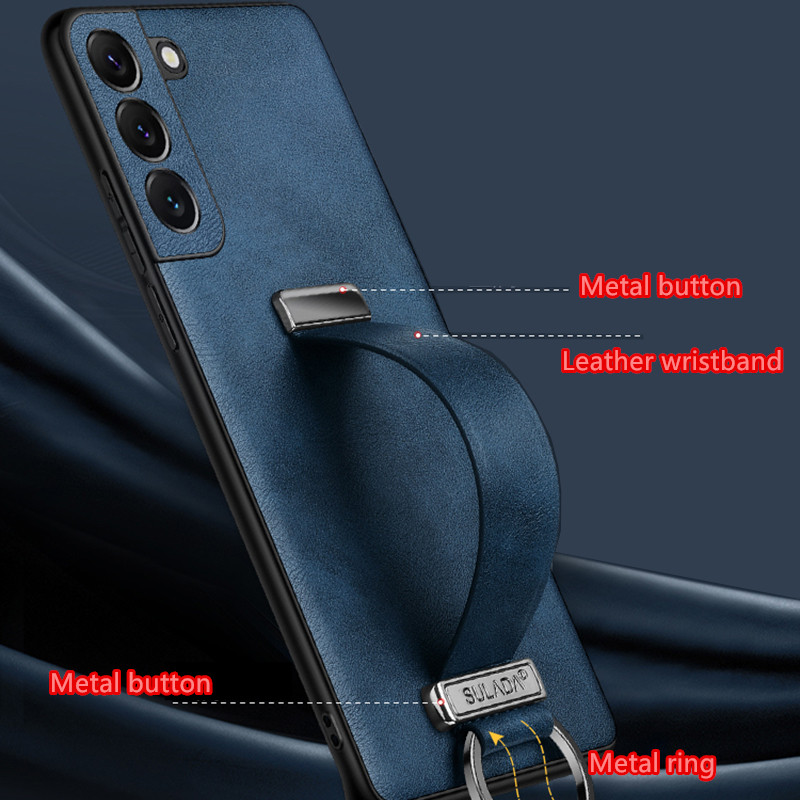 All-inclusive Real Protective Leather Case For Samsung S9 S8 Plus SG809_4